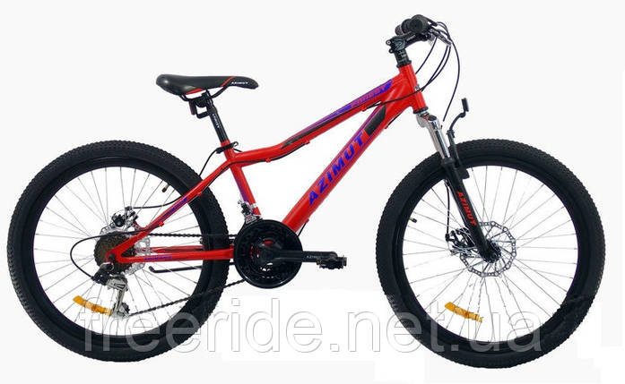Підлітковий велосипед Azimut Forest 24 G-FR/D (12.5), фото 2