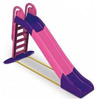 Детская горка Долони 243 см (014550/9) Розово-фиолетовая