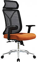 Офисное кресло GT Racer X-W80 Black/Orange, фото 1