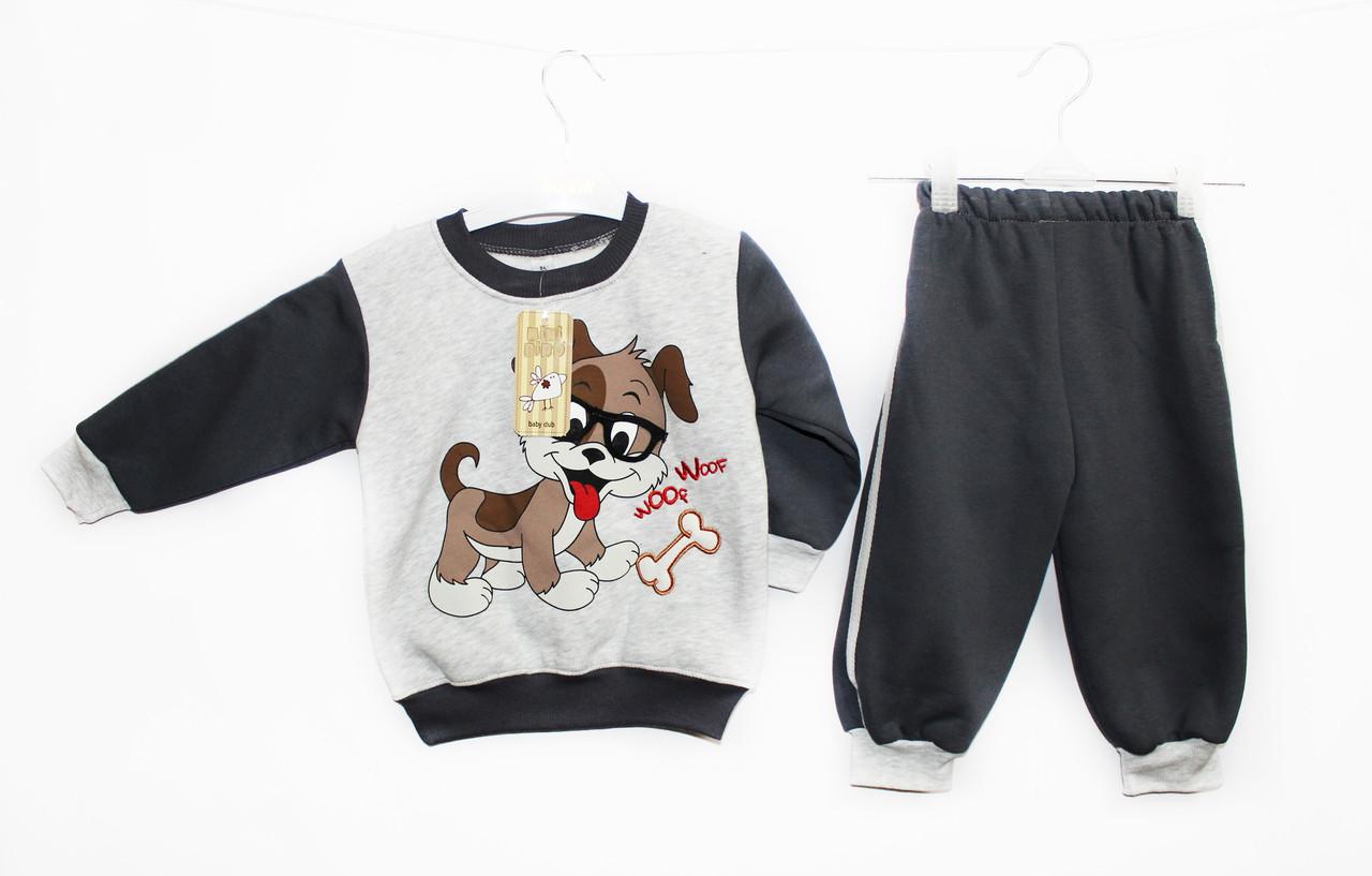 костюм детский трикотажный двойка для мальчика. Minibird 0340