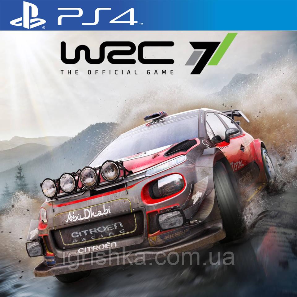 WRC 7 Fia World Rally Championship Ps4 (Цифровий аккаунт для PlayStation 4)