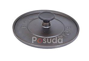 Чугунная крышка пресс круглая Биол 21,5 см 11242, фото 2