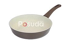 Сковорода Биол Классик декор с бакелитовой ручкой  22 см 22077ПС, фото 3