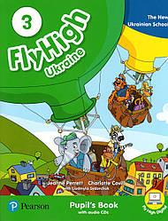 Fly High 3 Student's book +CD UKRAINE