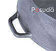 Чугунная жаровня Биол с алюминиевой крышкой 50 см 1750ал, фото 4