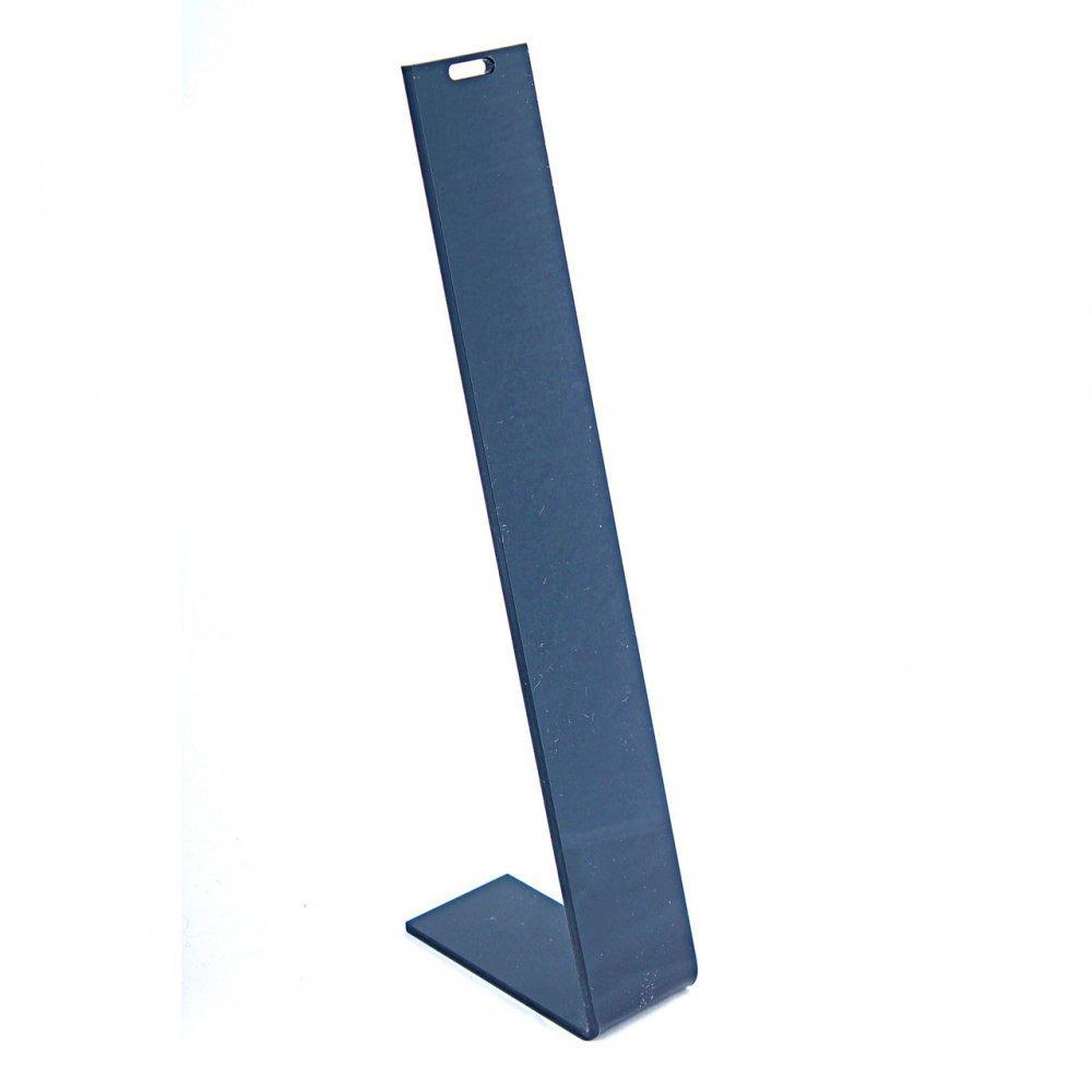 Подставка для цепочек, чёрный пластик, высота 210мм