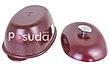 Гусятница Биол литая алюминиевая с внешним цветным покрытием 6 л Г0600Д, фото 2
