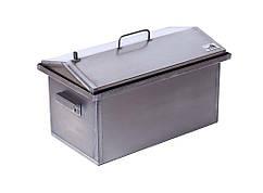 Домашняя коптильня Домик 1,5 мм 520х300х310 h-03