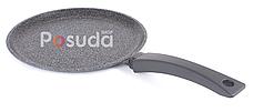 Сковорода Биол Гранит грей  блинная с антипригарным покрытием 24 см 24084М, фото 3