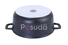 Кастрюля 5 л с крышкой сковородой и тефлоновым покрытием Биол К502П, фото 3