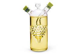 Бутылка 50/320 мл Fissman для масла и уксуса 2-в-1 стекло 7521