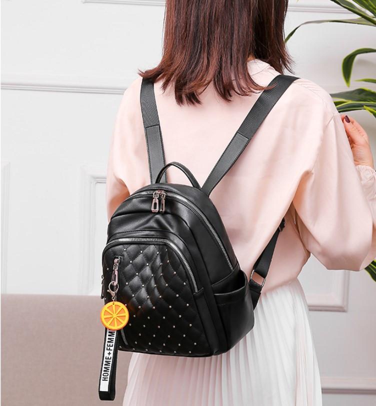Рюкзаки женские стильные городские модные качественный кожзам небольшой размер