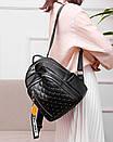 Рюкзаки женские стильные городские модные качественный кожзам небольшой размер, фото 2