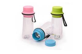 Бутылка для воды спортивная пластиковая Fissman 0,5 л 6847