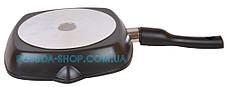 Сковорода гриль с антипригарным покрытием Биол и съемной ручкой 28 см 2814П, фото 3