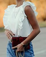 Блузка, ткань: Супер Софт, р-р 42-44, 46-48, 50-52, 54-56, цвет: ( белый, бежевый, коралл, пудра, чёрный )