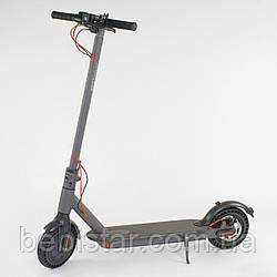 Электросамокат SD- 3678 Best Scooter 350W до 30 км скорость до 25 км/ч вес до 100 кг колеса 8,5 дюймов Серый