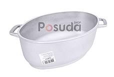 Гусятница Биол алюминиевая с утолщенным дном и крышкой сковородой 2,5 л Г301, фото 3