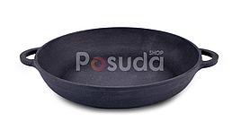 Порционная сковорода чугунная Ситон 20 см Ч2035