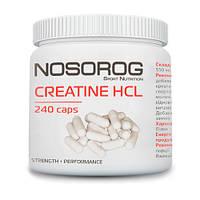 Креатин гидрохлорид Nosorog Creatine HCl, 240 капсул