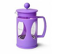Заварочный чайник френч-пресс с поршнем Fissman Mokka 600 мл FP-9004.600