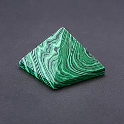 Пирамида Малахит (пресс) b- 38мм h-30мм