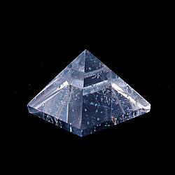 Пирамида сувенир натуральный камень Горный Хрусталь ассорти (цена за 100 грамм)