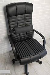 Подушка накидка для сидіння на кріслі керівника ортопедична. Комплект