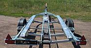 Оцинкованный одноосный прицеп для перевозки лодок до 5 м  Кияшко, фото 2