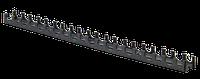 Планка монтажная ∅16-20мм для крепления труб теплого пола 50см