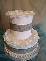 Муляжный торт  два этажа  d 30.d 20