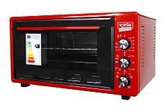 Печь настольная с конвекцией Ventolux ERIKA RED красная 45 литров