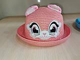 Шляпа соломенная детская, фото 3