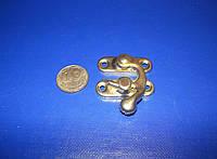 Крючок для шкатулки 33х29 золото, фото 1