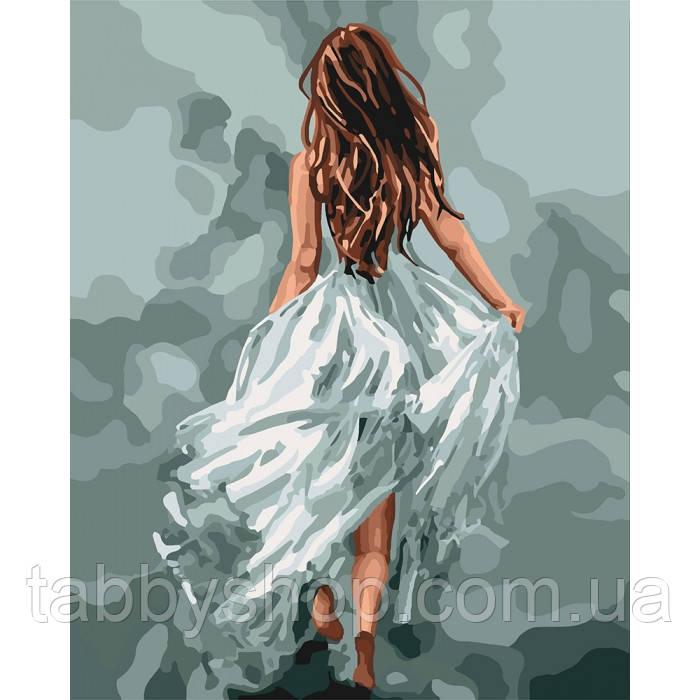 Картина по номерам Идейка - Загадочная женщина