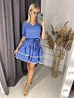 Платье,Ткань: Супер софт, р-р 42-44,46-48,50-52,54-56,цвет: (Серый,Чёрный,Марсала,Джинс, Тё-синий, Розовый )