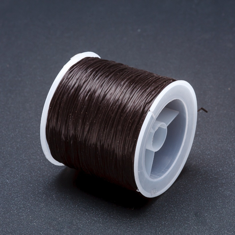 Резинка для рукоделия катушка Черный L-60м