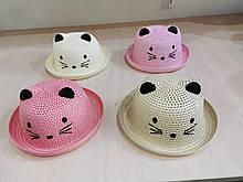 Шляпа соломенная детская