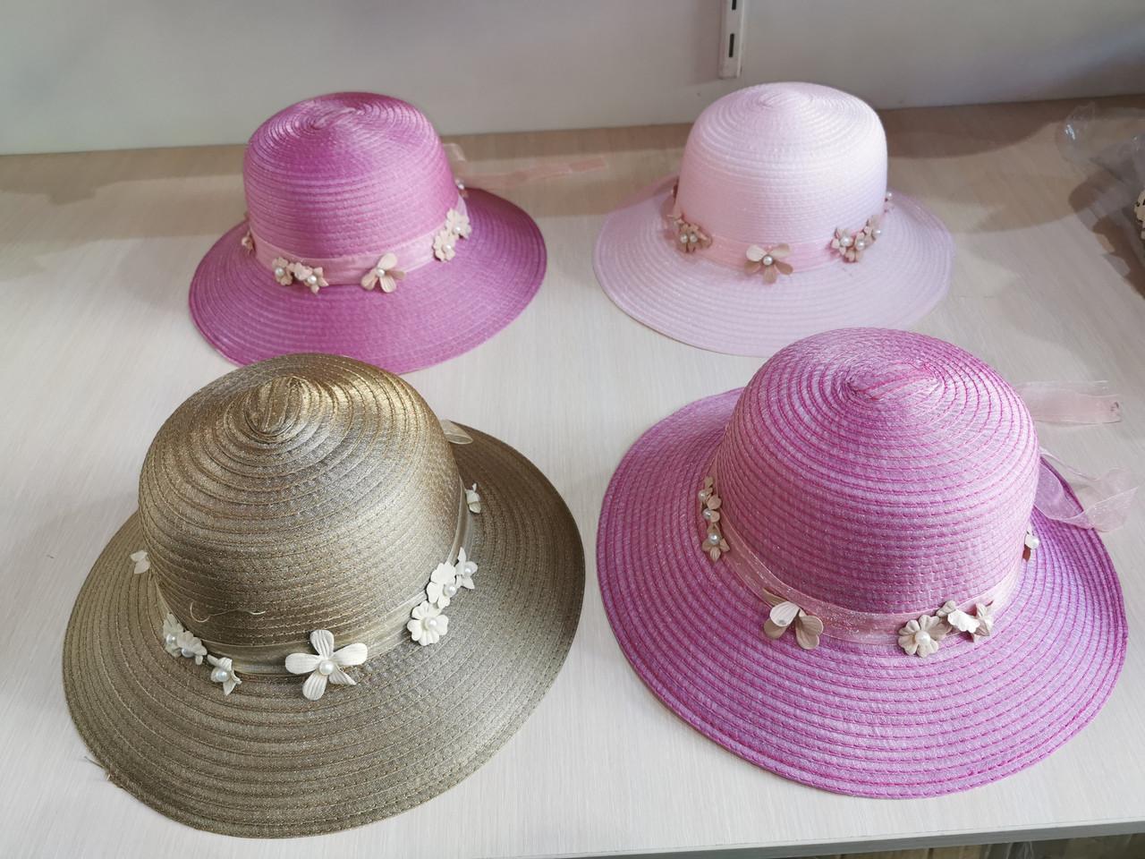 Шляпа соломенная взрослая