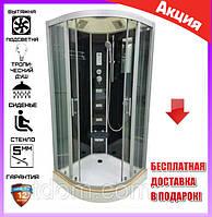 Гидромассажная душевая кабина 100*100 см Veronis BN-5-100 черный
