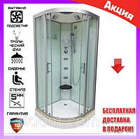 Гидромассажная душевая кабина 100х100 см Veronis BN-5-100 XL матовый