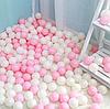 Шарики для сухого бассейна 5,5 см - 100 шт (зефирка)