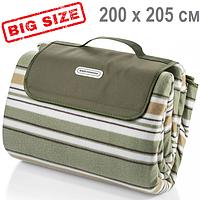 Килимок для пікніка та пляжу Кемпінг СА-65 Maxi 200 х 205 см (покривало, килимок-сумка, великий плед), фото 1