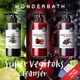 Освітлюючий детокс-гель Wonder Bath Super Vegitoks Cleanser Red 300мл, фото 2