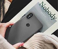 Xiaomi Redmi Note 7/Redmi Note 7 Pro Силиконовая накладка Silicone Cover full (аналог) (Серый цвет)