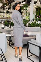 Костюм женский с юбкой миди из тёплой ангоры супер качества (44-54), фото 3