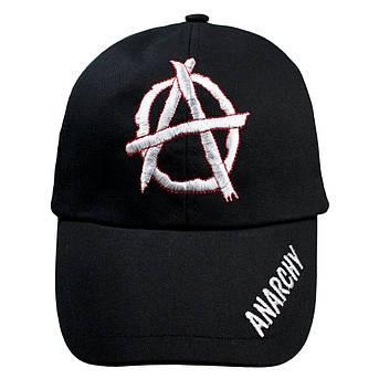 Бейсболка АНАРХІЯ чорна, фото 2