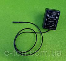 Терморегулятор цифровой DALAS 10А / 220V / L=1м (с ГЕРМЕТИЧНЫМ термодатчиком) под розетку   (Украина)