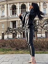 """Пиджак """"spring suit"""" экокожа, фото 2"""
