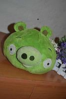 Игрушка Angry Birds Свинка оригинал, плюшевая мягкая игрушка, качественные игрушки из мультфильмов